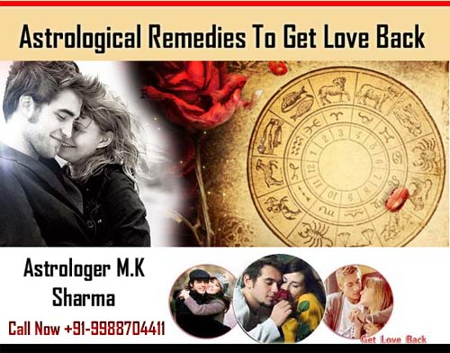 Astrological remedies to get love back