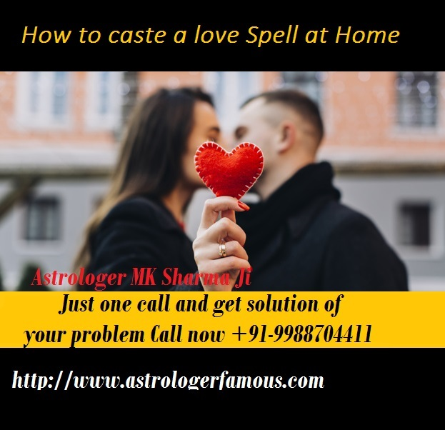 How to caste a love spell at home