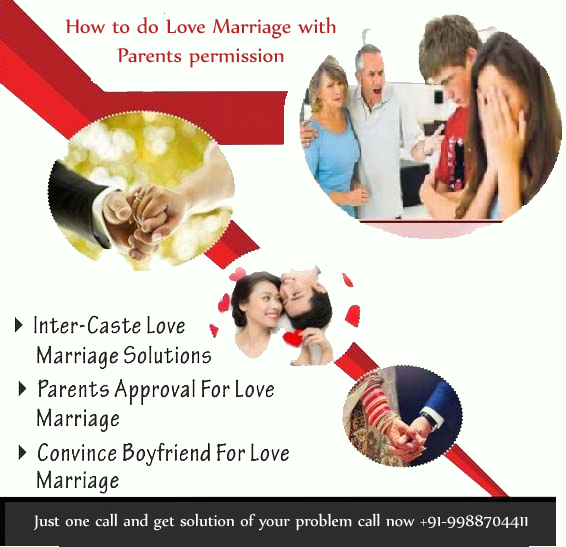 how to do love marriage with parents permission