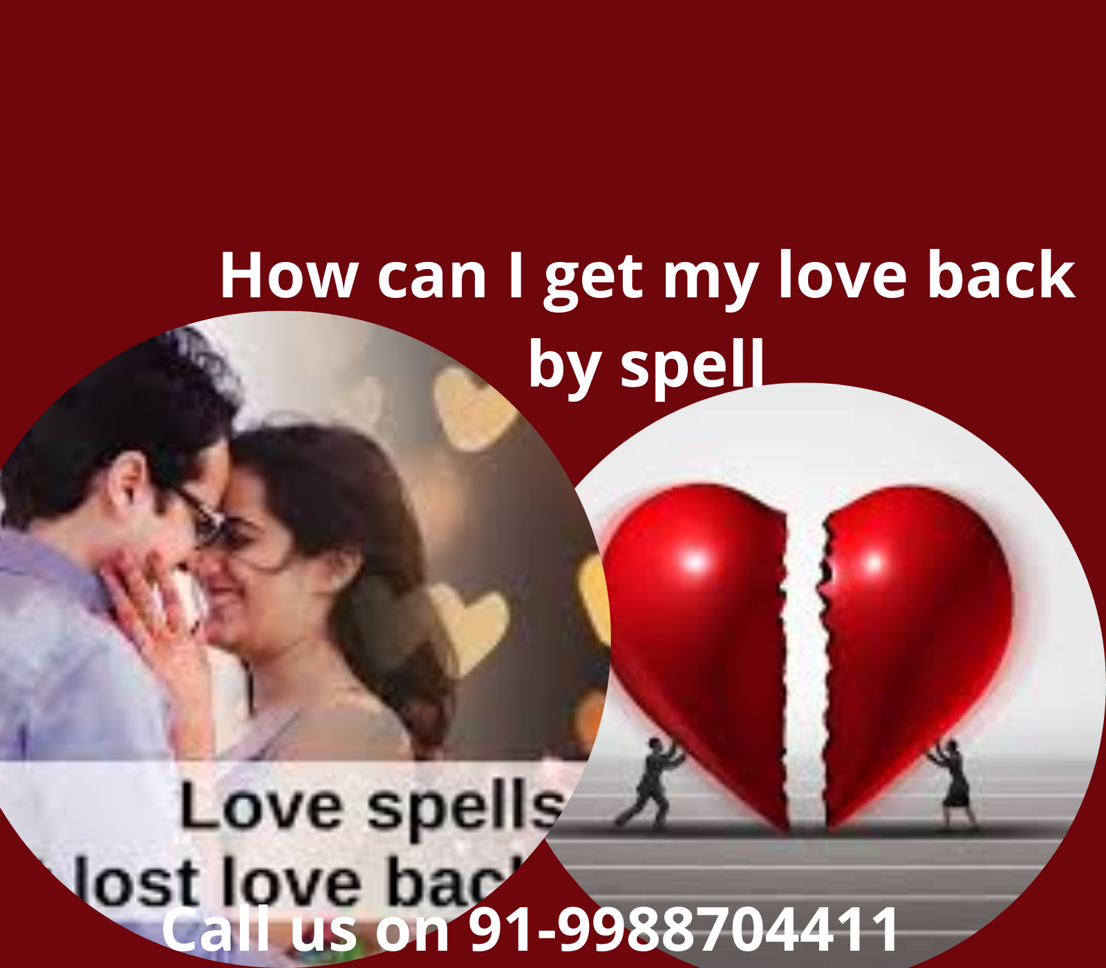 How can I get my love back by spell