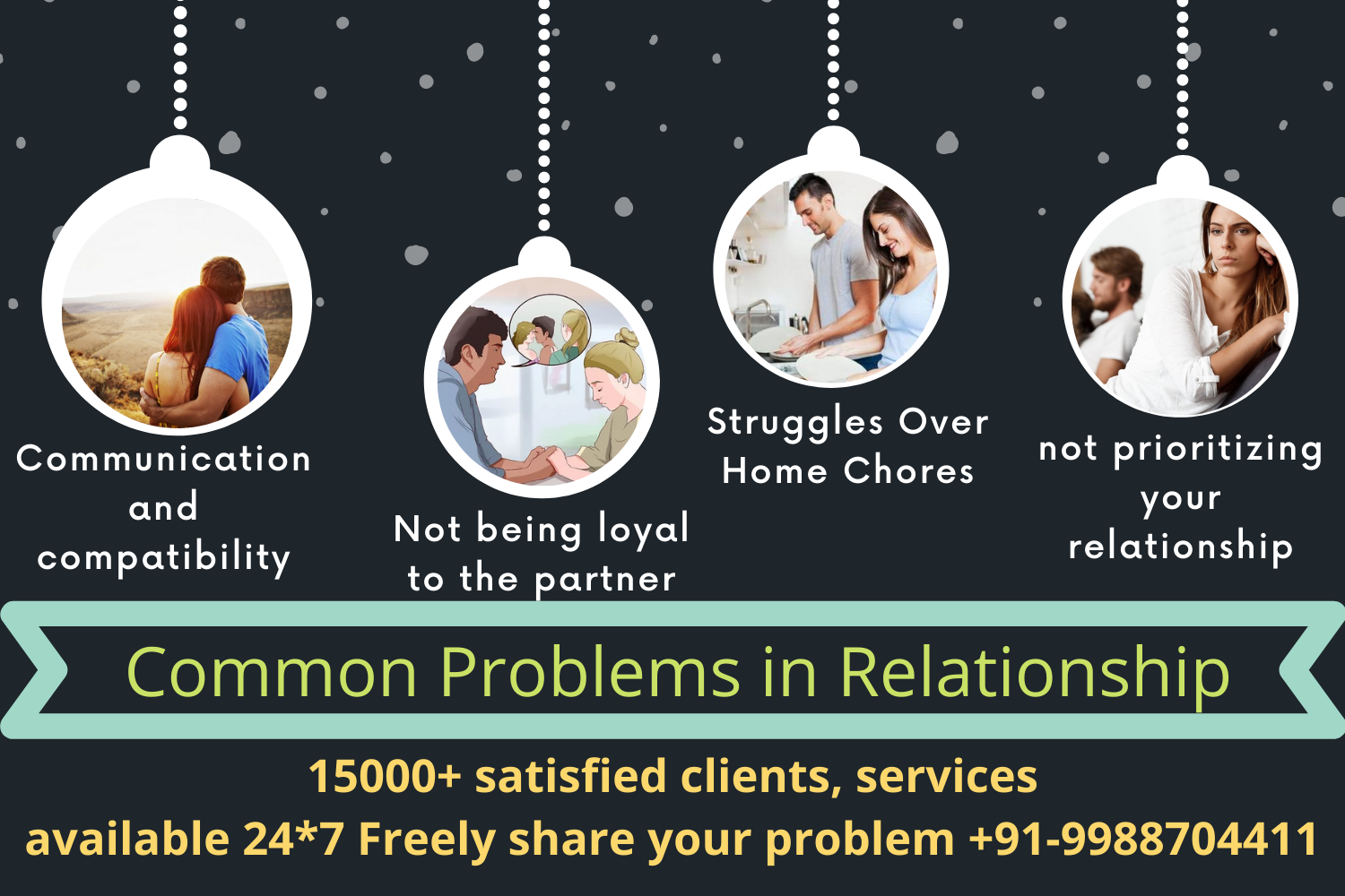 Common Problems in Relationship