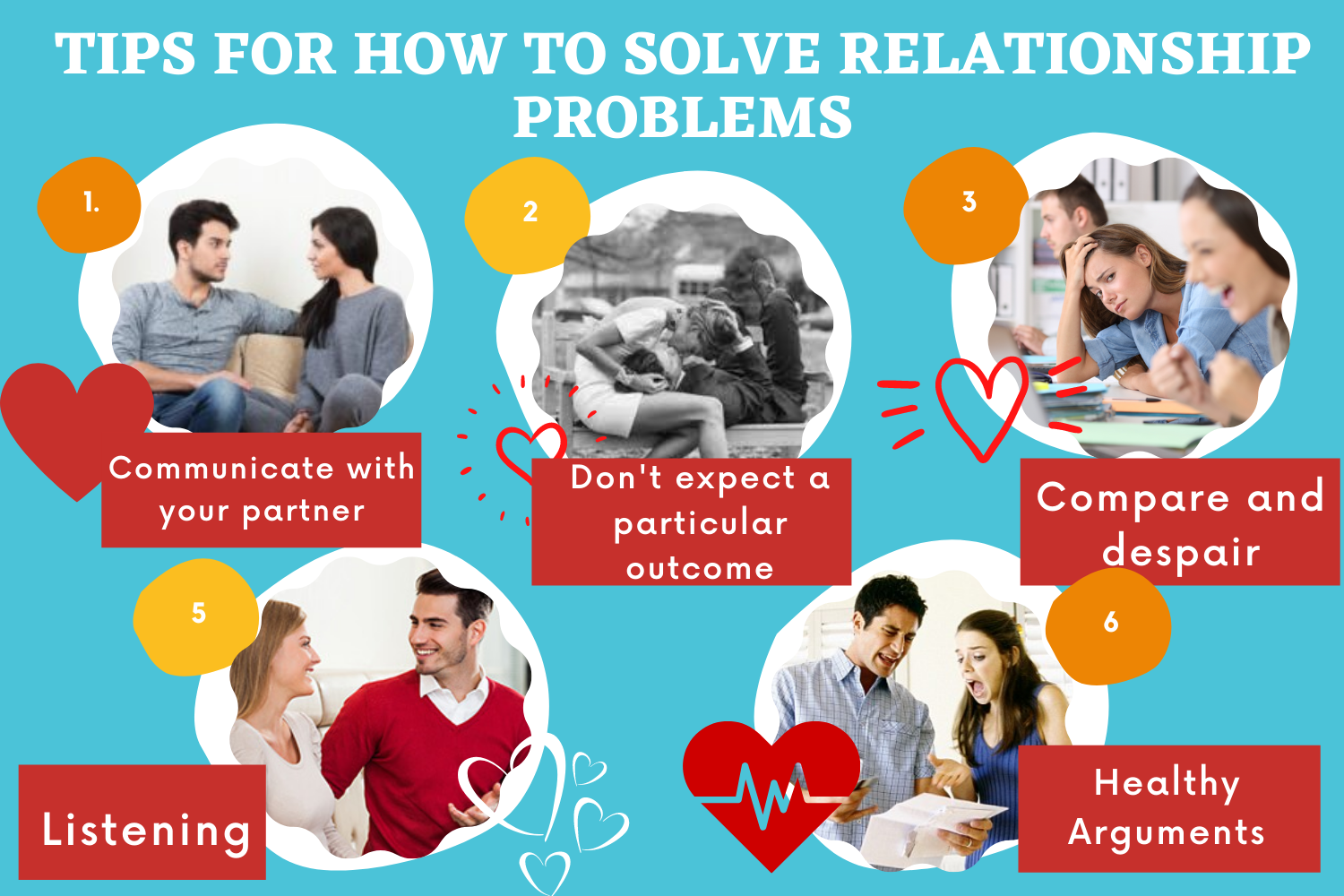 Tips For How To Solve Relationship Problems
